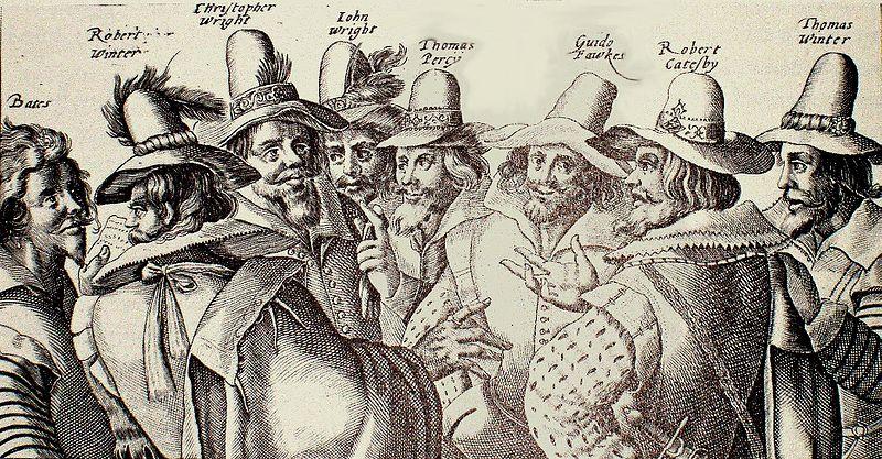 La Conspiración de la Pólvora Crispijn van de Passe the Elder