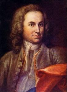 Johann Sebastian Bach en 1715 tumba Wikimedia