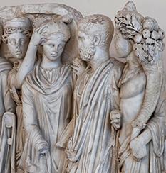 Iconografía en lápidas funerarias