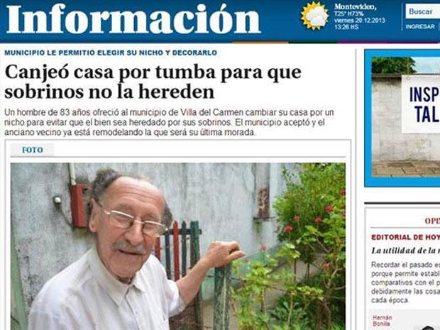 vivienda por nicho Uruguay
