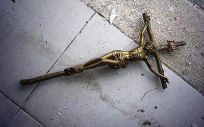 Actos vandálicos en el Cementerio de Brunete