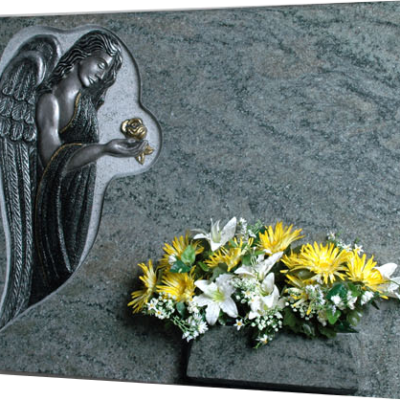 Lápida Ángel Orando