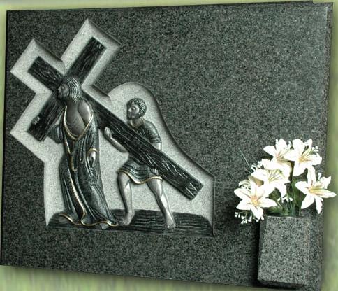 Lápida Nazareno y Cirineo