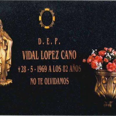 Lápida Sagrado Corazón de Jesús 303