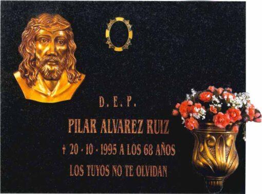 Lápida del Santísimo Rostro de Cristo nº307