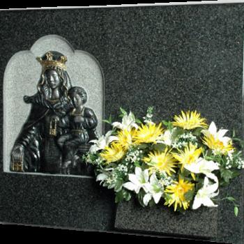 Lápida de la Virgen Carmen
