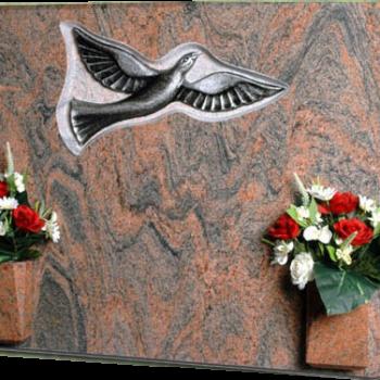 Lápida de la paloma de la libertad