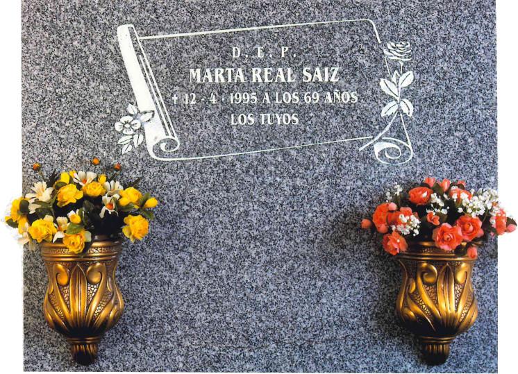 Lápida de la Biblia grabada en plata nº317