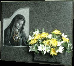 Lápida Corazón María