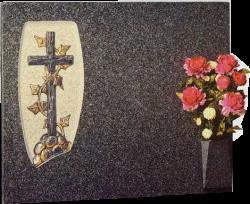 Lápida de la Santa Cruz desnuda