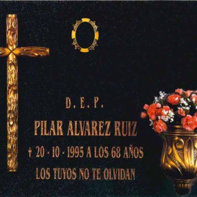 Lápida de la Cruz de tronco nº310