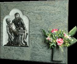 Lápida Piedad Miguel Angel