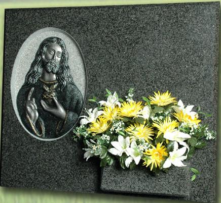 Lápida del Sagrado Corazón