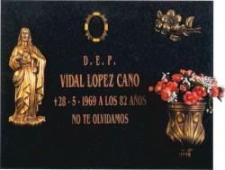 Lápida del Sagrado Corazón de Jesús nº303