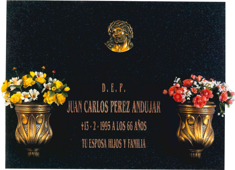Lápida del Santísimo Rostro del Señor nº316