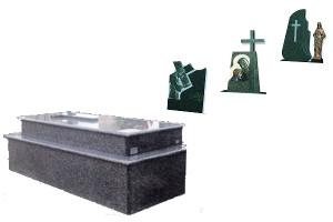 Panteón con pedestal