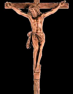 Crucifijo de bronce cruz de tronco ref.2002