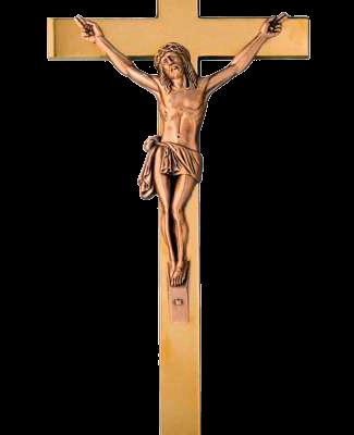 Crucifijo de bronce Ref. 2010