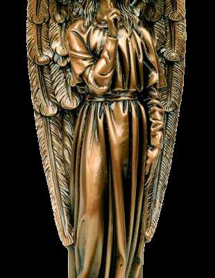 Ángel del silencio en bronce Ref. 5044