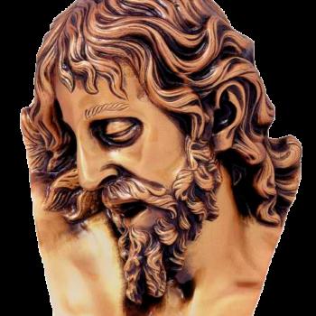 Cabeza de Cristo en bronce Ref. 5700