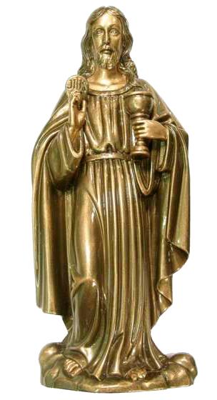 Corazón de Jesús en mármol sintético Ref. 6320B