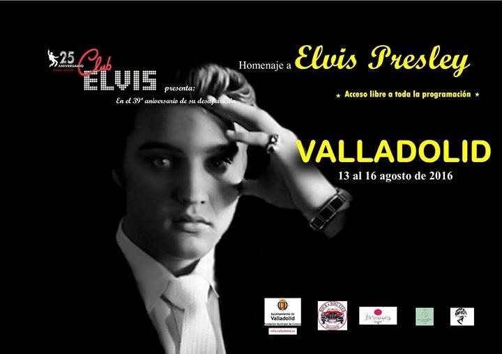 Homenaje Elvis Valladolid