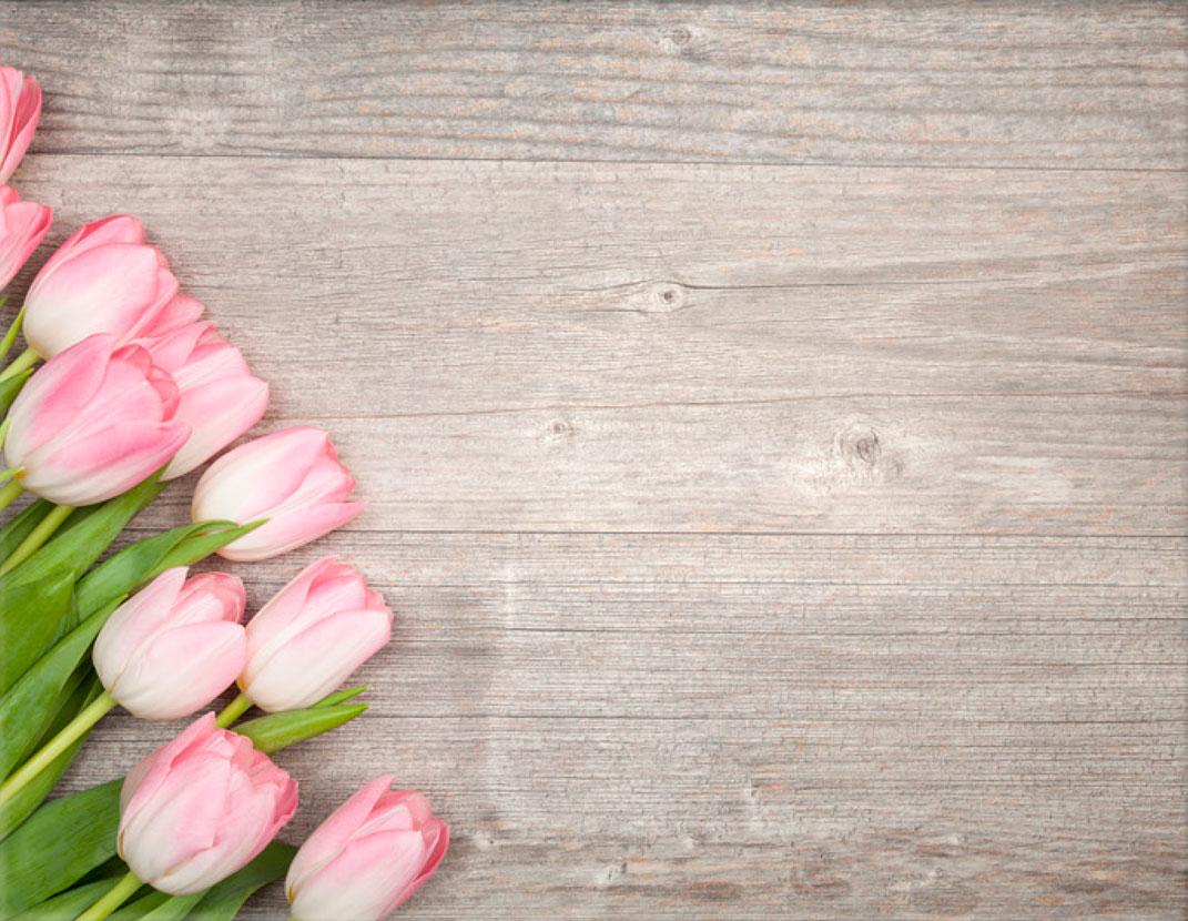 Lápida ColorFull flores rosas 2404