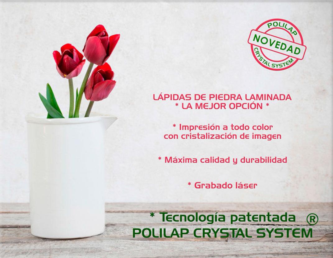 Lápida ColorFull jarrón con rosas 3652