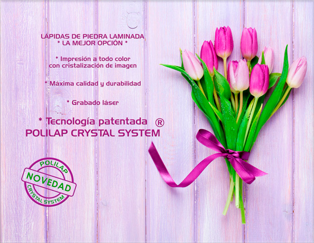Lápida ColorFull Madera rosa 5966