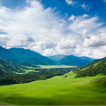 Lápida ColorFull montaña y Cielo 9660