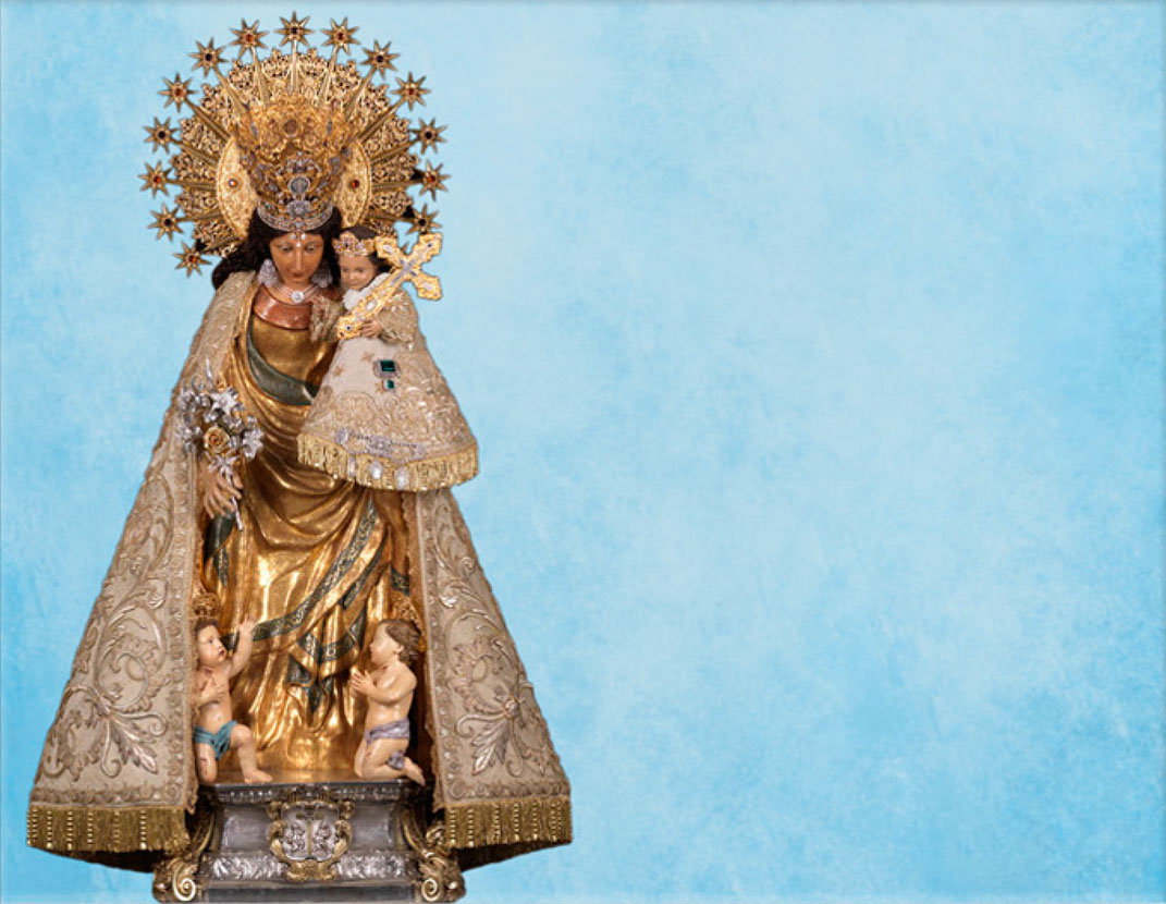 Lápida ColorFull Virgen de los Desamparados RL007