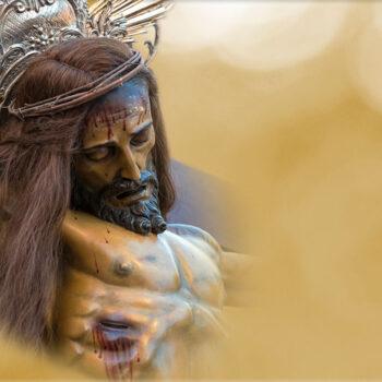 Lápida ColorFull Jesús en la Cruz RL011